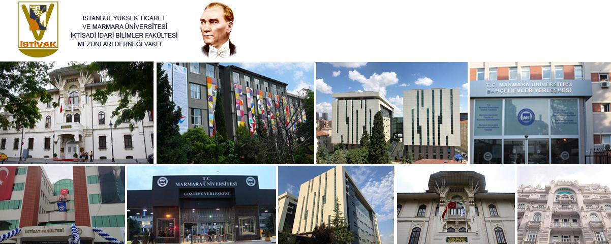 İstanbul Yüksek Ticaret ve Marmara Üniversitesi İktisadi ve İdari Bilimler Fakültesi Mezunları Derneği Vakfı logo